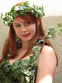 Free Stock Photo: Beautiful girl posing in nature costume at Dragoncon 2008