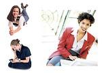 Free Stock Photo: Various girls and women.