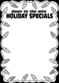 Free Stock Photo: Illustration of a blank holiday sale sign