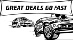 Free Stock Photo: Illustration of race cars and sales text
