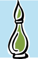 Free Stock Photo: Illustration of a perfume bottle.