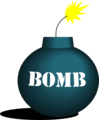 Free Stock Photo: Illustration of a bomb