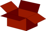 Free Stock Photo: Illustration of an empty red box