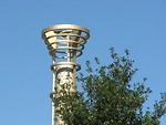 Free Stock Photo: Torch at Olympic Park in Atlanta.
