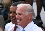 Free Stock Photo: President Barack Obama and VP Joe Biden
