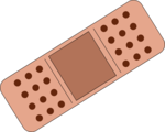 Free Stock Photo: Illustration of a band-aid