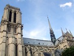 Free Stock Photo: Notre Dame cathedral