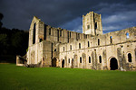 Free Stock Photo: Fountains Abbey in Yorkshire at night