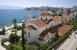 Free Stock Photo: A church on the coast in Sarande, Albania