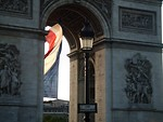 Free Stock Photo: Arc de Triomphe in Paris, France.