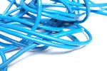 Free Stock Photo: Close-up of blue plastic rope