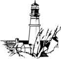 Free Stock Photo: Illustration of a lighthouse