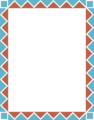 Free Stock Photo: Illustration of a blank frame border