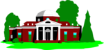 Free Stock Photo: Illustration of Monticello in Virginia.
