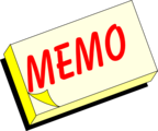 Free Stock Photo: Illustration of a yellow memo pad with text