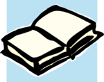 Free Stock Photo: Illustration of a blank white book.
