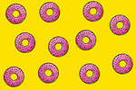 Free Stock Photo: Illustration of donuts