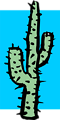 Free Stock Photo: Illustration of a tall cactus