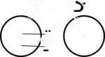 Free Stock Photo: Illustration of a ten speed bicycle