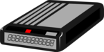 Free Stock Photo: Illustration of a black pager