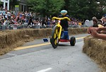 Free Stock Photo: A large tricycle at the 2009 Red Bull Soap Box Derby in Atlanta, Georgia