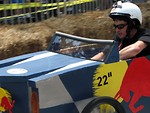 Free Stock Photo: A race car at the 2009 Red Bull Soap Box Derby in Atlanta, Georgia.