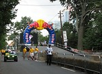 Free Stock Photo: Race starting gate at the 2009 Red Bull Soap Box Derby in Atlanta, Georgia