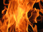 Free Stock Photo: Close-up of a fire