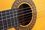 Free Stock Photo: Close-up of an acoustic guitar