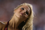 Free Stock Photo: A Washington Redskins cheerleader