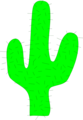 Free Stock Photo: Illustration of a cactus
